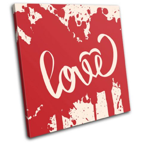 Love Blood Splat Love - 13-0593(00B)-SG11-LO